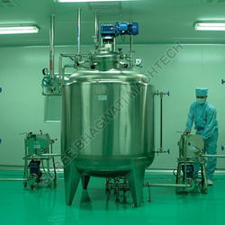 Mixing Tanks For Food, Cosmetic, Consumer Products