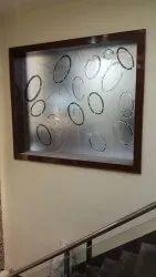 Glossy Designer Rectangular Window Glass, Packaging Type: Box, Thickness: 5mm