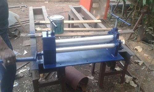 Steel Fabrication - Mini Plate Rolling/ Bending Machine
