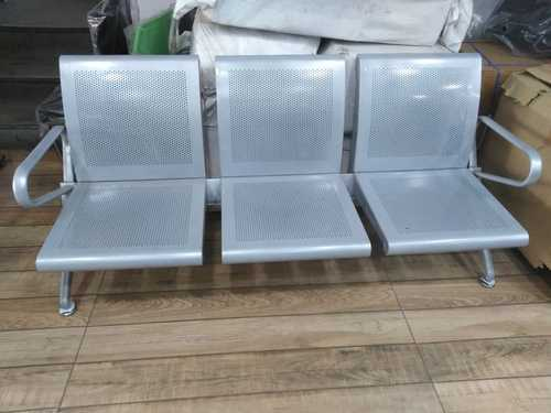 Tremendous Waiting Chair Stainless Steel 3 Seater Waiting Chair Short Links Chair Design For Home Short Linksinfo