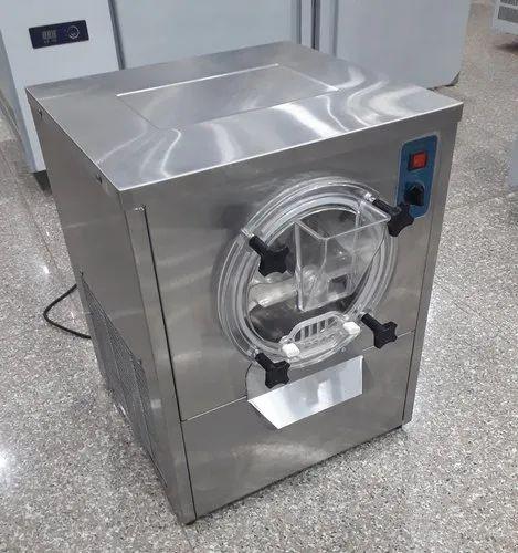 Hard Ice Cream Gelato Batch Freezer Machine