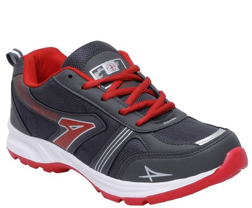 b02e7619a0d4 Men Aero Fax Running Shoes Red And Grey