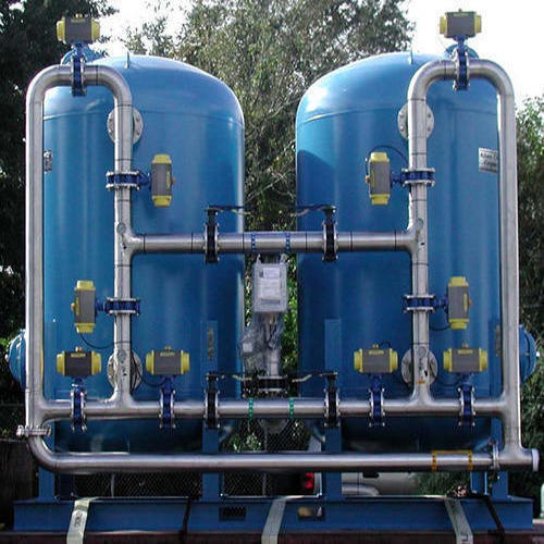 Multigrade Sand Filter Blue and Silver Industrial Filtration Systems,  Automation Grade: Automatic,   ID: 11642078512