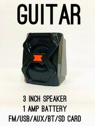 Stereo As Showing Zoom Star Guitar Wireless Bluetooth Rechargeable Speaker