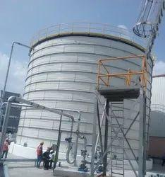 Modular Tank Steel Fire Water Tanks, Capacity: 30000L-5000000L