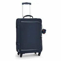 Nylon Black Travel Suitcase