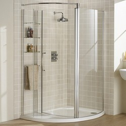 Tempered Glass Shower Enclosure At Best Price In India