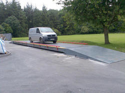 Weighbridge for Pharmaceutical Industry