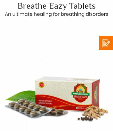 Breathe Easy Tablets, Packaging Size: 60 Tablets Per Packets