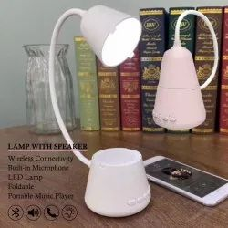Lamp With Bluetooth Speaker Built-In Microphone
