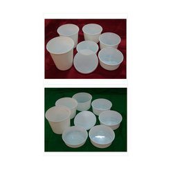 Plastic Disposable Round Container