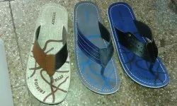 Leather Gents Slipper