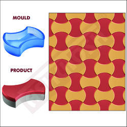 PRODUCTS FOR CEMENT CONCRETE INDUSTRY - PVC Moulds for Paver Blocks