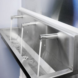 Silver Stainless Steel Wash Basin