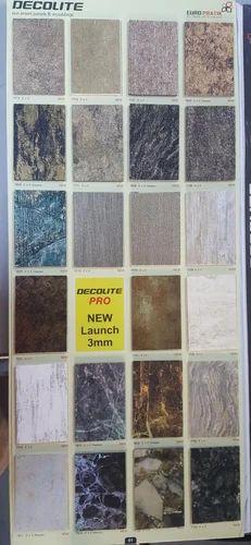 Euro Pratik Charcoal 3d Wall Panels Pvc Acrylic Stone