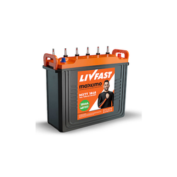 150Ah Livfast Maxximo Tall Tubular Inverter Battery, Warranty: 48 Month