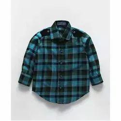 Causal Kids Check Shirt