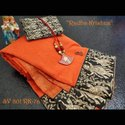Heavy Cotton Indian Wear Saree
