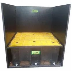 Spill Pallet For Outdoors Chemical Storage