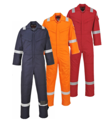Pyrovatex Flame Retardant Coverall
