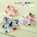 Bamboo bibs for baby