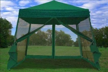 Green Shade Tent Net