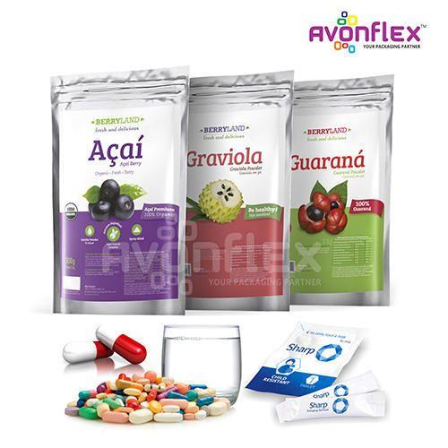 Pharmaceuticals Packaging - Food Supplements Packaging