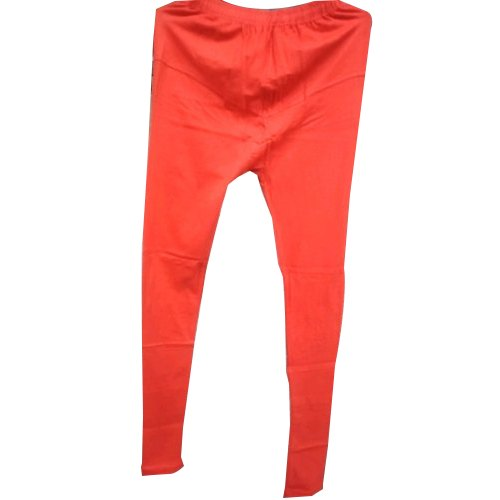 Casual Wear Straight Fit Ladies Plain Red Legging