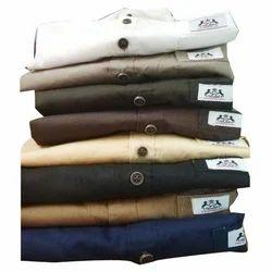 Mens Fancy Plain Shirt