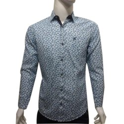 Men Cotton Full Sleeves Casual Shirt, Size: S-XXL