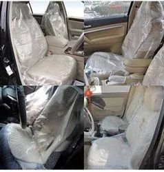Transparent LD Disposable Car Seat Cover