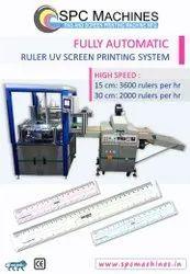 Automatic Ruler UV Screen Printing Machine