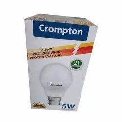 Ceramic Round Crompton 5 W LED Bulb