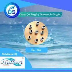 Fountain Cluster Jet Nozzle, Diamond Jet Nozzle - HA-268