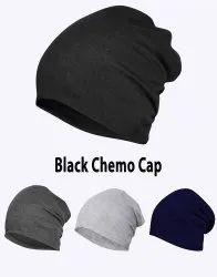 Chemo Black Beanie Cotton Cap