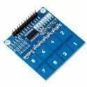 TTP226 8-Channel Capacitive Touch PAD Sensor Sensing Detector