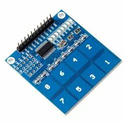 Robocraze TTP226 8-Channel Capacitive Touch PAD Sensor Sensing Detector
