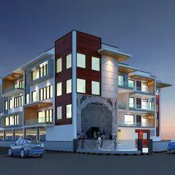 Hospital Exterior 3D Design