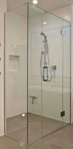 Toughened Glass Shower Partition, Shower Glass Panel Cost India