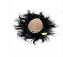 8x5 Inch Natural Black Human Hair Mirage Patch