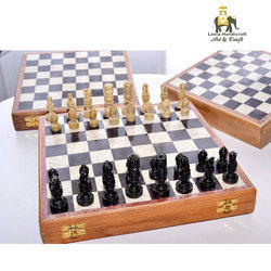 Soap Stone Chess Board