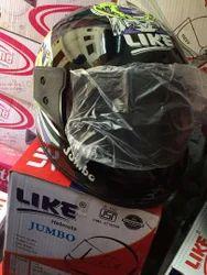 Multicolor Full Face Helmet, Size: Medium