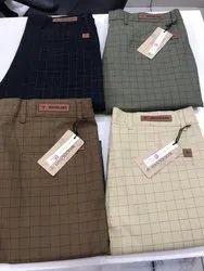 Cotten Cotton Mens Trousers, Machine wash, Size: 28-34