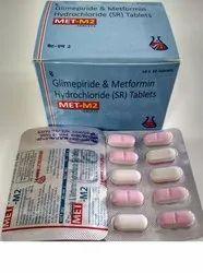 Remetech Pharma Metformin HCL, Glimepiride, 10*10, Prescription