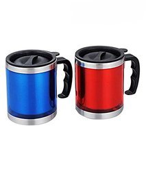 Stainless Steel Insulated Travel Mug with Sipper Lid -MUG-166