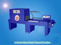 L Sealer Cum Shrink Tunnel Machine