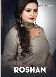 Rani Trendz Roshan Palazzo Style Salwar Suits Catalog