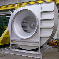 Industrial Fans With Dampers