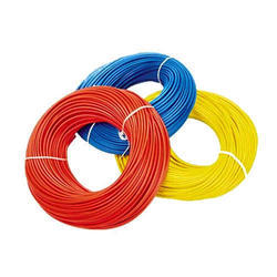Red And Yellow 1 sqmm PVC Insulated Electrical Wire, 90m