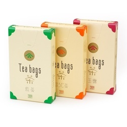 Tea Bags Printed Tag